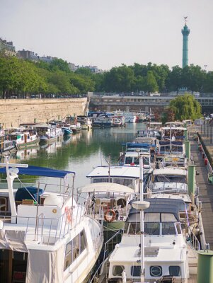 Fototapeta Bassin de l'Arsenal