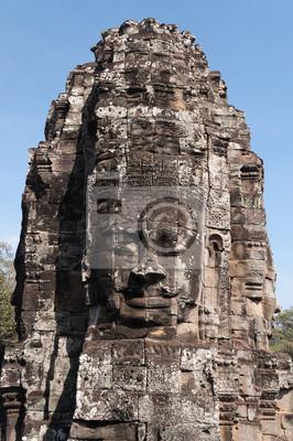 Bayon, Angkor Thom. Kambodża
