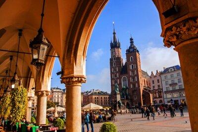 Fototapeta Bazylika Saint Mary w Krakowie
