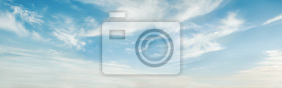 Fototapeta Beautiful blue sky with clouds