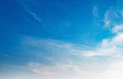 beautiful blue sky with white cloud