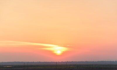 Beautiful clouds sky sunset background