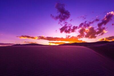 Fototapeta Beautiful Desert Sunset