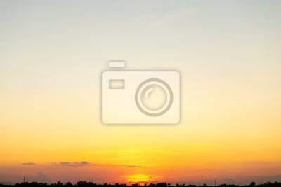 Beautiful of sunset sky background