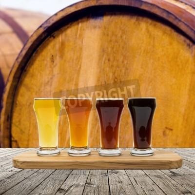 Fototapeta Beer Flight