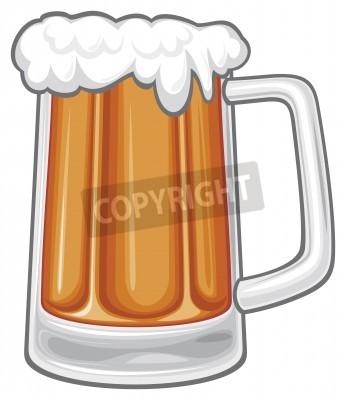 Fototapeta beer mug