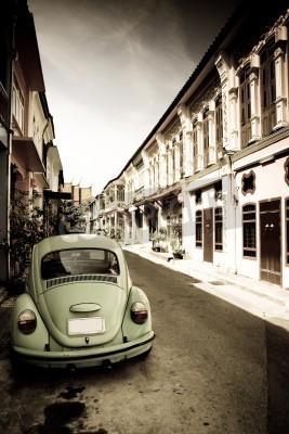 Fototapeta Beetle w mieście
