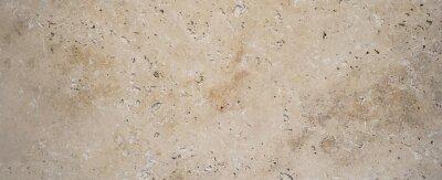 Fototapeta Beige brown natural stone texture background banner panorama