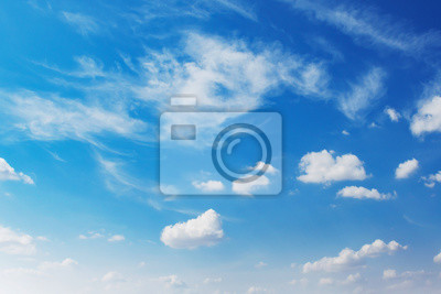 beuatiful blue sky with white cloud background
