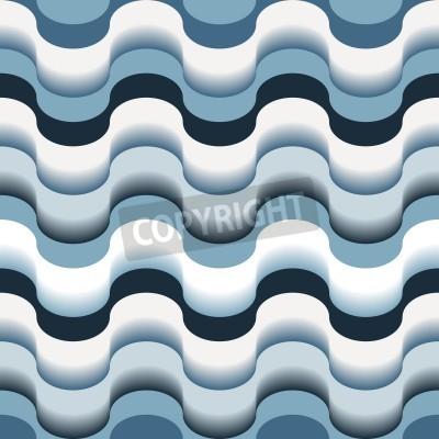 Fototapeta Bez szwu abstrakcyjna niebieski tekstury wirowa