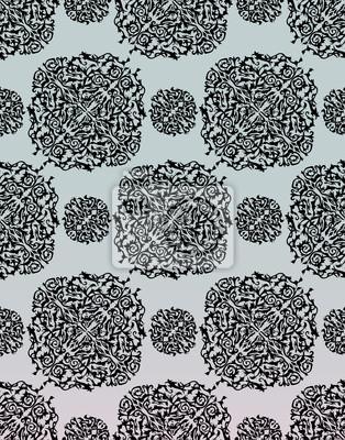 Bez szwu kwiatowy wzór. Ilustracji wektorowych.