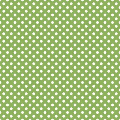 Fototapeta bez szwu zielony polka dot tle