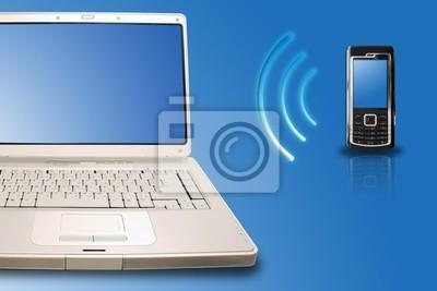 bezprzewodowe / bluetooth, telefon z podłączeniem laptopa