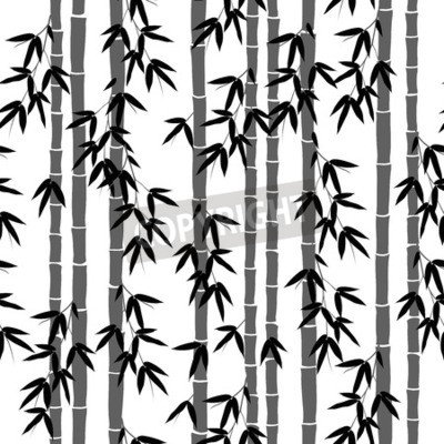 Fototapeta bezszwowe wzór tapety bambusa
