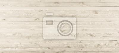 Fototapeta Bia? A drewna tekstury t? A powierzchni starego naturalnego wzoru. Lekki grunge powierzchni rustykalny drewniany stół widok z góry