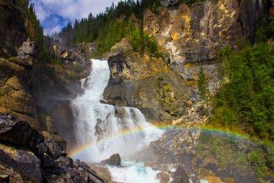 Fototapeta Białe Falls