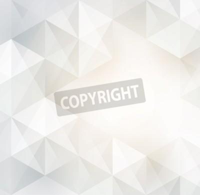 Fototapeta Białe geometryczne tle