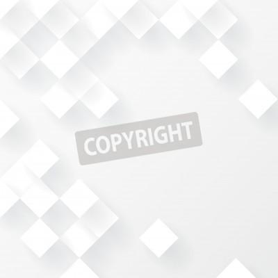 Fototapeta Białe geometryczne tło wektor.