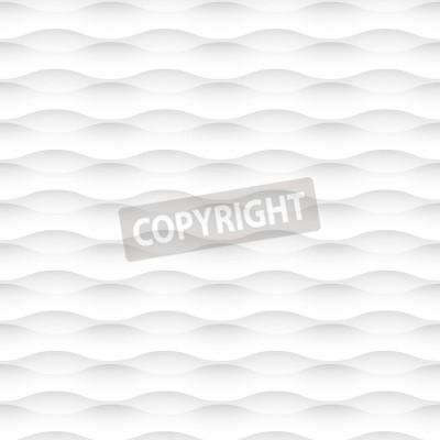 Fototapeta białe tło z fal abstrakcyjna Szwu