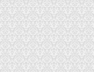 Fototapeta biały kwiatowy wzór tapety