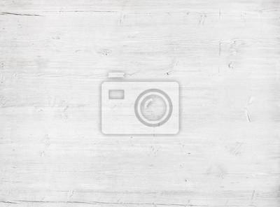 Fototapeta Biały, szary ścian drewnianych tekstury, stare malowane deski sosnowe