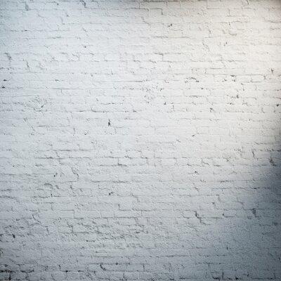 Fototapeta Białym murem reflektory wit