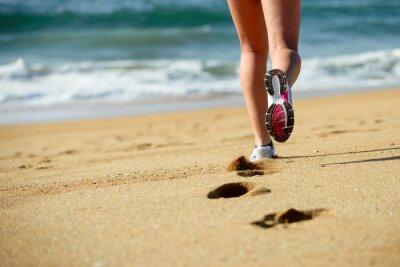 Fototapeta Bieganie na plaży