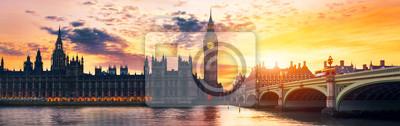 Fototapeta Big Ben i Izba Parlamentu