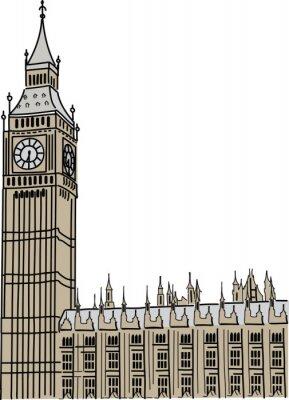 Fototapeta Big Ben w Londynie