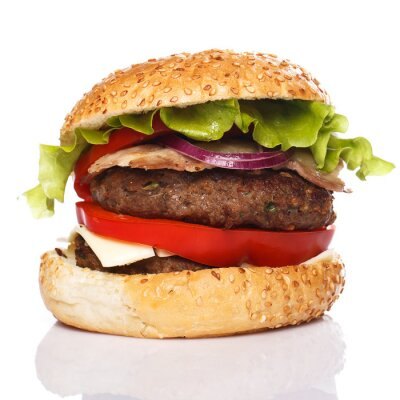 Fototapeta Big Burger domowych