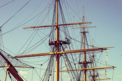 Fototapeta Big rigging