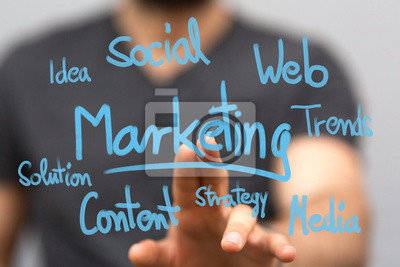 Fototapeta biznesu w marketingu