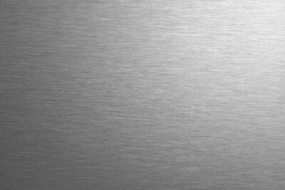 Fototapeta Blach ze stali nierdzewnej