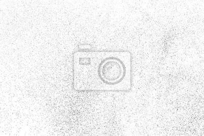 Fototapeta Black Grainy Texture Isolated On White Background. Dust Overlay. Dark Noise Granules. Digitally Generated Image. Vector Design Elements, Illustration, Eps 10.