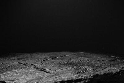 Fototapeta  black stone on a black background