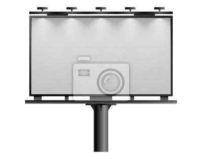 Fototapeta Blank billboard