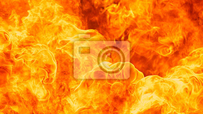 Fototapeta blaze strażacki płomień tekstury tła