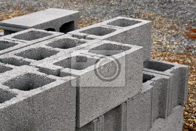Fototapeta Bloczki Betonowe Na Wymiar Zablokowac Budowa Tworzywo Redro Pl