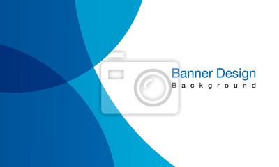 Fototapeta Blue background vector illustration lighting effect graphic for text and message board design infographic