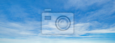 Fototapeta Blue sky background with clouds