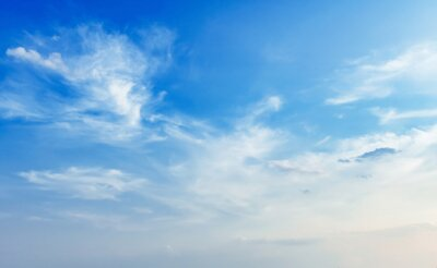 blue sky with white cloud view nature