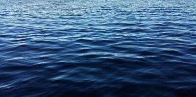 Fototapeta Blue water background