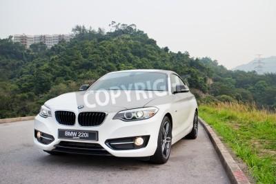 Fototapeta BMW 220i 2014 Sedan, wszystkie nowe serie, mały sedan