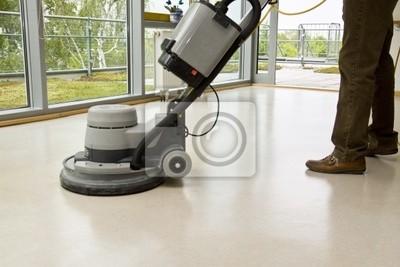 Fototapeta Bodenpflege