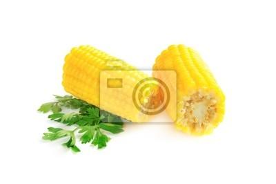 Boiled posiekane kukurydzy