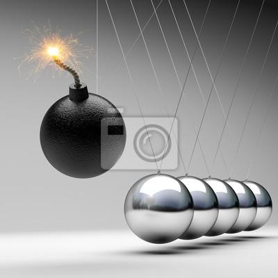 Bomba newton kołyski