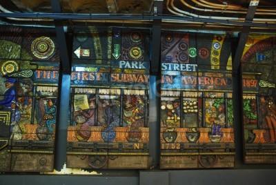 Fototapeta Boston Subway