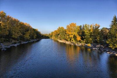 Fototapeta Bow River w Calgary