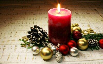 Boże Narodzenie świece i światła. Boże Narodzenie.