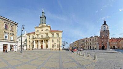 Fototapeta Brama Krakowska w Lublinie panoramie